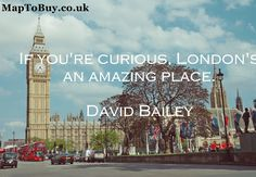 London is an amazing Place. #London-Quote #amazing