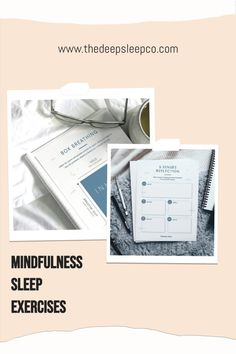 Free mindfulness sleep printables for a more peaceful slumber. #mindfulness #sleep