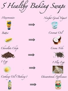 5 Quick and Easy Baking Swaps