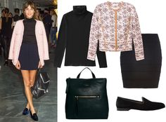 Celebrity-inspired work outfits: Alexa Chung #InStyle