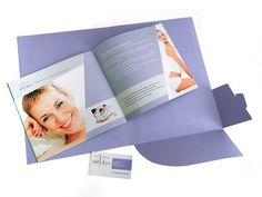 Design and Printing of the corporate folder and brochure of WellAging by ThinkBAG.