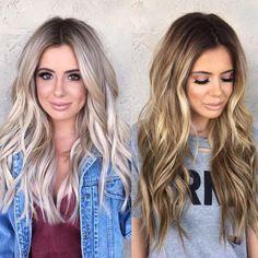 Sleek Ash Blonde Hair - 40 Styles with Medium Blonde Hair for Major Inspiration - The Trending Hairstyle Blondish Brown Hair, Medium Blonde Hair, Pinterest Hair, Blonde Balayage, Brunette To Blonde, Ash Blonde, Hair Highlights, White Blonde Highlights, Partial Highlights