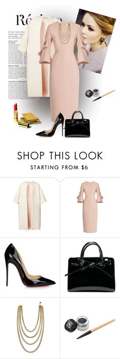 """Untitled #2208"" by swc0509 ❤ liked on Polyvore featuring Anja, Esme Vie, Roksanda and Christian Louboutin"