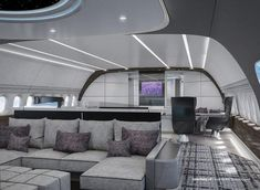 Luxury Jets, Luxury Private Jets, Private Plane, Shower Pods, Casa Magna, Boeing Business Jet, Master Suite, Million Dollar Rooms, Jet Privé