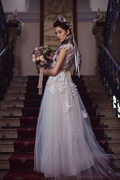 Wedding Bouquet Bridal Bouquet Flower Bridal by MagaelaAccessories