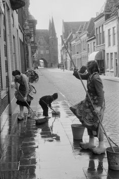 Henri Cartier-Bresson Kampen, Países Bajos, 1956