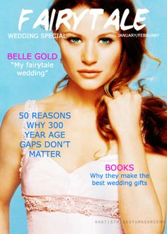 Belle French Gold on Fairytale Magazine lol