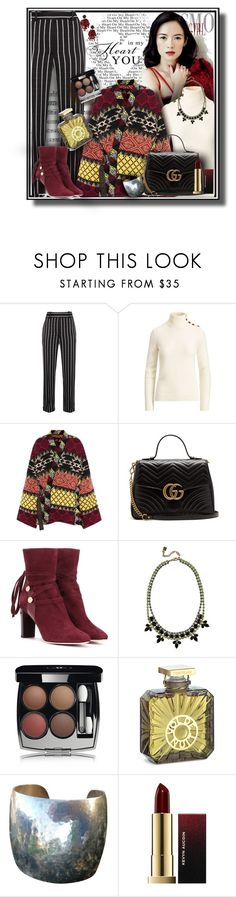 """""""Etro Kimono 2/2/18"""" by franceseattle ❤ liked on Polyvore featuring Haider Ackermann, Ralph Lauren Collection, Etro, Gucci, Jimmy Choo, DANNIJO, Chanel, Guerlain, Ralph Lauren and Kevyn Aucoin"""