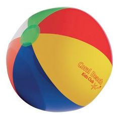 Multicolour Beach Ball  Large inflatable multicolour beach ball great for summer promotions.