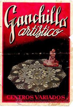 Revista *Ganchillo Artístico* Centros variados. Álbum 1451 - Colección