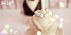 How to Wedding tutorial: Bride & Groom Cake Pops