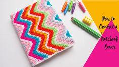 Sol de Noche {deco crochet}: How to Crochet a Notebook Cover