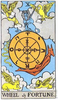 Owls Wings – Tarot Card of the Week, June 1-7, 2020: Wheel of Fortune Wheel Of Fortune Tarot, Orishas Yoruba, Tarot Significado, Fortune Cards, Owl Wings, Tarot Major Arcana, Tarot Learning, Tarot Card Meanings, Card Reading