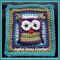Owl Applique/Square ~ free pattern