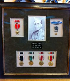 Army medals display case--I like the crispness of the case