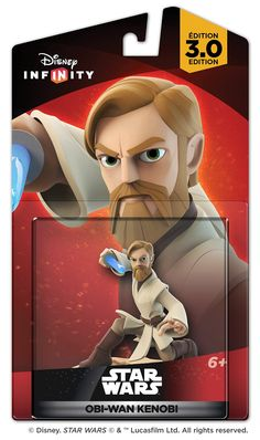 Disney Infinity 3.0 - Star Wars  Obi-Wan Kenobi Figure (US and International Packaging)