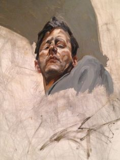 Lucian Freud Self-portrait Metropolitan Breuer UNFINISHED exhibit