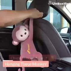 Car Home Hanging Monkey Pippi Tissue Holder The post Car Home Hanging Monkey Pippi Tissue Holder appeared first on Berable. Car Home Hanging Monkey Pippi Tissue Holder Tissue Box Covers, Tissue Boxes, Tissue Holders, Cute Pillows, Baby Pillows, Service Auto, Diy Auto, Monkey Decorations, Monkey Style