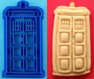 Doctor Who Cookie Cutters: Timey Wimey Tasty Wasty - O. M. G. want! :D (and somewhere, I have saved the pantone for Tardis blue - I bet it's reproduce-able in royal icing!)