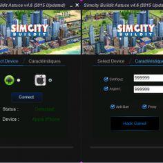 SimCity BuildIt Hack Cheats Unlimited Simoleons, Money and Golden Keys Live App, Golden Key, Hack Online, Cheating, Ios, Android, Hacks, Money, Free