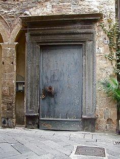 big old doorway.