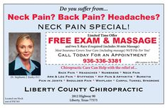 Neck Pain Special