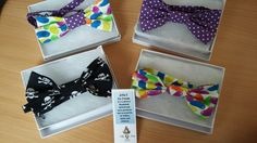 Boxed bow ties, £12.50 each