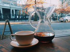 Nice coffee with #chemex