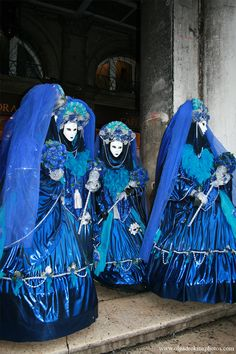 Carnaval in blue