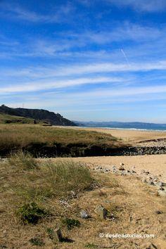 Playa de Vega Ribadesella. Playas Asturias [Ms info] www.desdeasturias...
