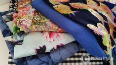 To moje ostatnie zakupy: piękną silky lyrca, len wisher, dzianiny, cienki jenas kwiatowy i bawełna na koszulę :) Baby Car Seats