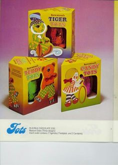1977 Rowntrees Tots easter eggs