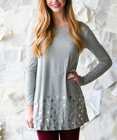 Look what I found on #zulily! Heather Gray