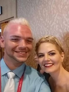 Once Upon A Fan    Selfie time with @jenmorrisonlive and #OnceUponAFan's @TheZachVan