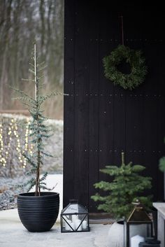 20 Scandinavian Christmas Wreaths With Natural Spirit | Home Design And Interior