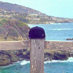 """The Trilogy"" Black: Comprised of Black Cashmere and Black Lamb Leather III Southern California I Strapback I Hat I Hats I Melin Brand I $180.00"