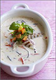 Kokossuppe (Thai) med Tun - Gratis Opskrift