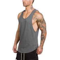 159913afb87 T shirt vest Tanktop · Workout ShirtsWorkout Tank TopsWorkout VestMens  FitnessFitness TopSleeveless ShirtRunning VestsRunning ShirtsBodybuilding