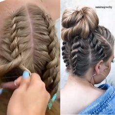 Beautiful hairstyle tips braided hair vikings braided ethnic hairstyles braided hairstyles one side shaved braided hairstyles easy braid hairstyles video tutorial braided hairstyles for 10 year olds braided hair videos braided hairstyles buns Cute Hairstyles, Braided Hairstyles, Wedding Hairstyles, Hairstyles Videos, Workout Hairstyles, Hairstyles 2018, Cute Volleyball Hairstyles, Dancer Hairstyles, Rocker Hairstyles