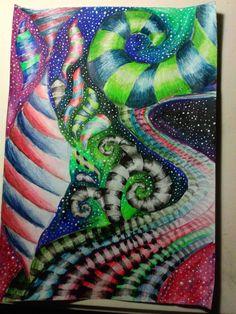 Watercolor pencils :3