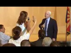 John McCain **Owned By** Syrian Woman At Town Hall Meeting   Sometimes the right person gets to speak at the right time... this is One of Those Occasions !!! .. [.2013.]