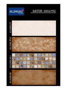 It's the #design that counts.  S_11029 - Millennium Tiles 250x750mm (10x30) Digital Ceramic #Satin Finish Large Format Wall #Tiles  - S_11029_LT - S_11029_HL2 - S_11029_HL1 - S_11029_DK  - Satin Finish Tiles: This finish is often a popular choice as it is easy to clean and maintain & adds a more minimalist feel than high gloss. Satin finishes are smooth to the touch and often with a more soft appearance than other finishes.