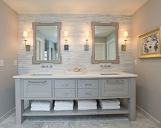 déco salle de bain nature
