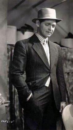 "Clark Gable in ""Idiot's Delight"" 1939"