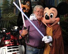 George-Lucas-Disney: for some reason he looks sad to me...