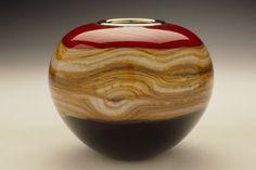 Ruby Strata Sphere