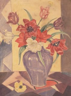 An image of Tulips by Thea Proctor