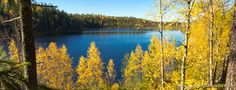 Peaceful and distant pond. Pond, Photo Galleries, Autumn, River, Mountains, Gallery, Colors, Nature, Outdoor