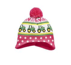 7fc0c2e6f4d Toddler John Deere Sweater Knit Stocking Cap (Pink) - LP65319