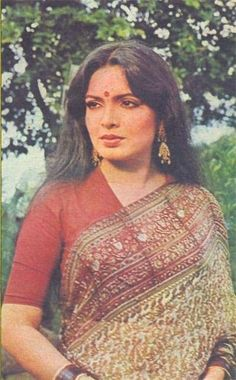 Picture of Parveen Babi Vintage Bollywood, Indian Bollywood, Bollywood Stars, Bollywood Fashion, Bollywood Heroine, Indian Film Actress, Old Actress, Indian Actresses, 80s Actresses